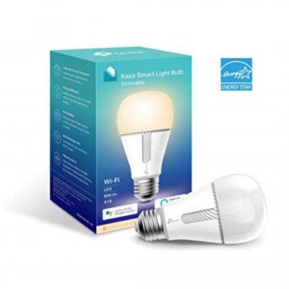 TP-Link Kasa Smart Light Bulb, Dimmable, KL110; Wi-Fi Protocol: IEEE